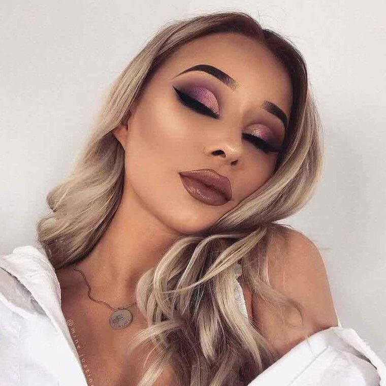 Explore the Bold Beauty by @mine.justine featuring Liquid Lipstick - Bittersweet