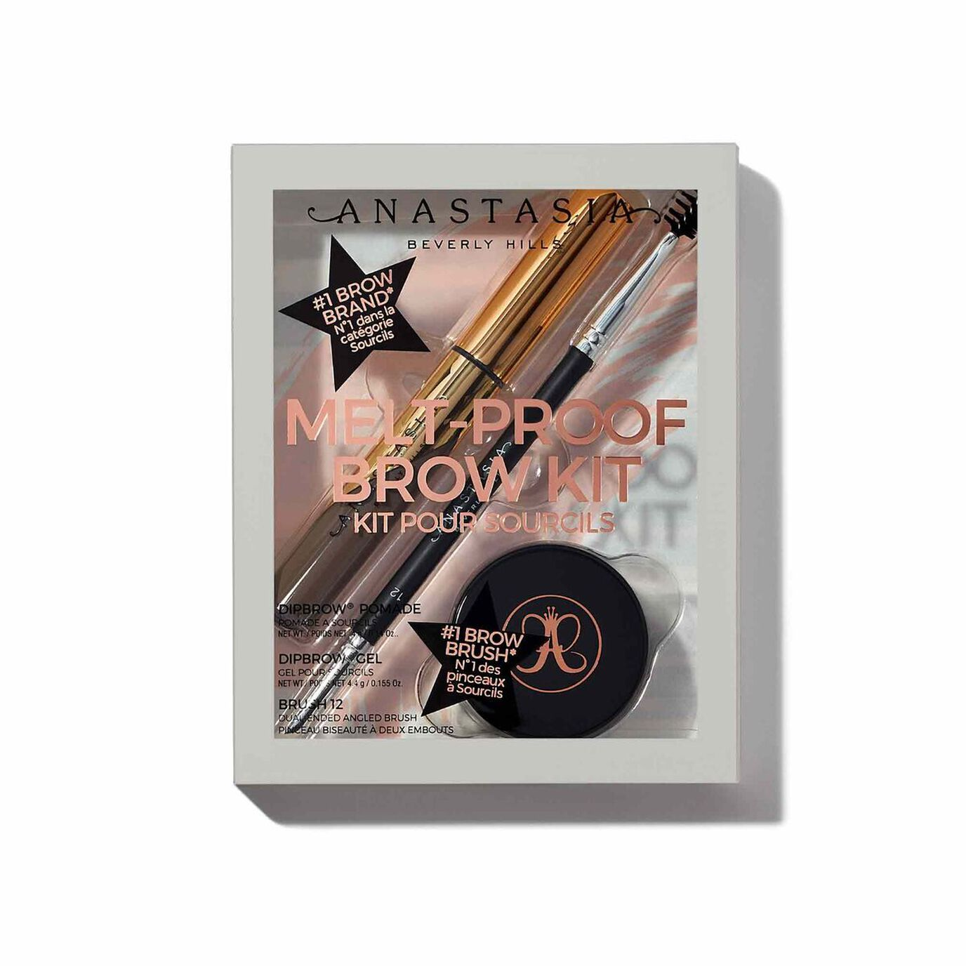 Melt-Proof Brow Kit - Medium Brown