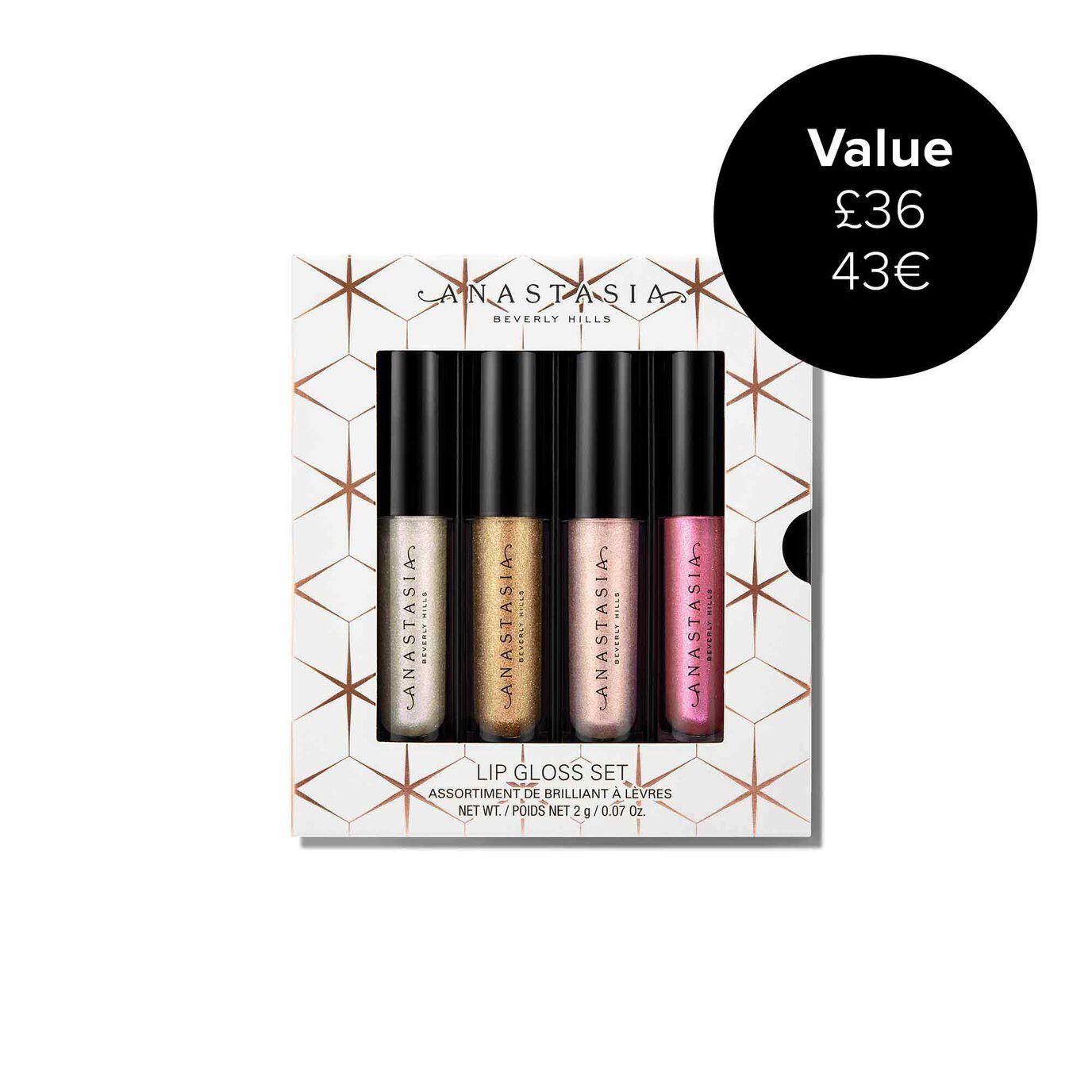 Mini Lip Gloss 4-Piece Set