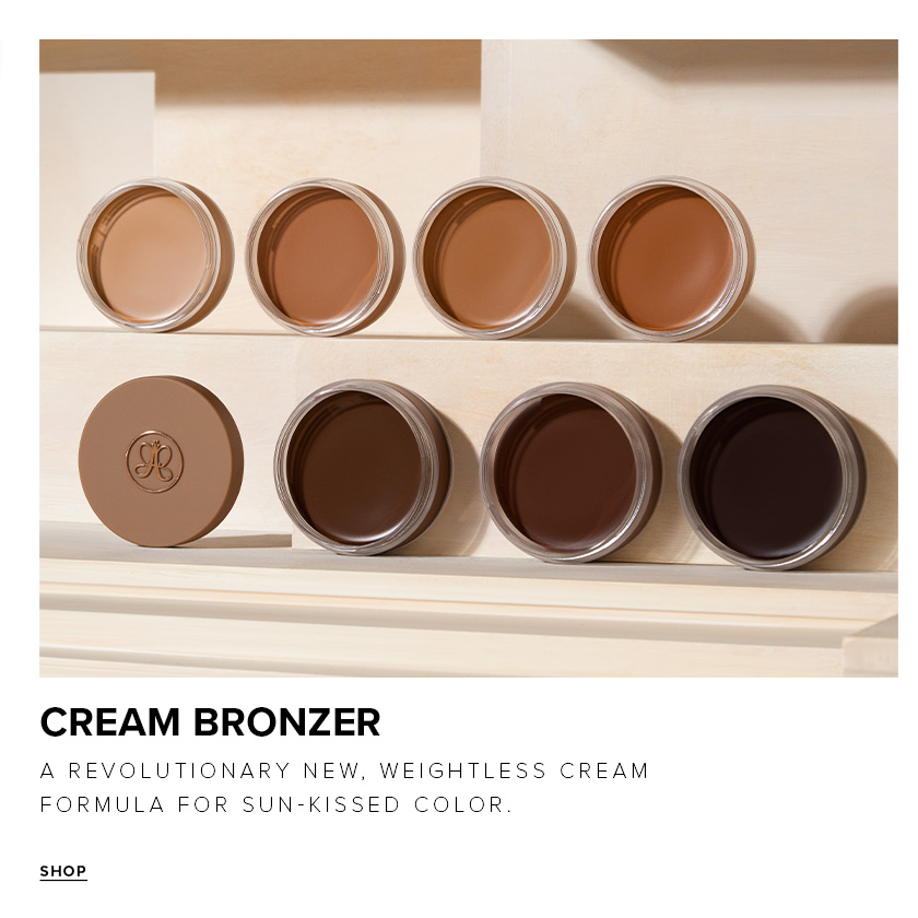 Cream Bronzers - A revolutionary new, weightless cream formula for sun kissed color