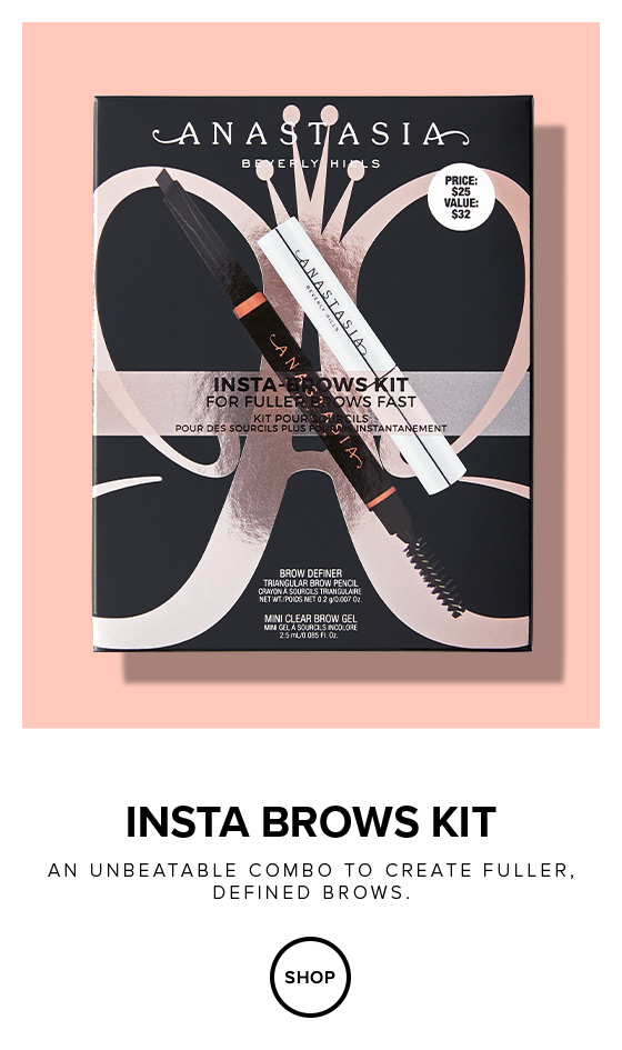 Insta Brow Kits an unbeatable combo to create fuller defined brows