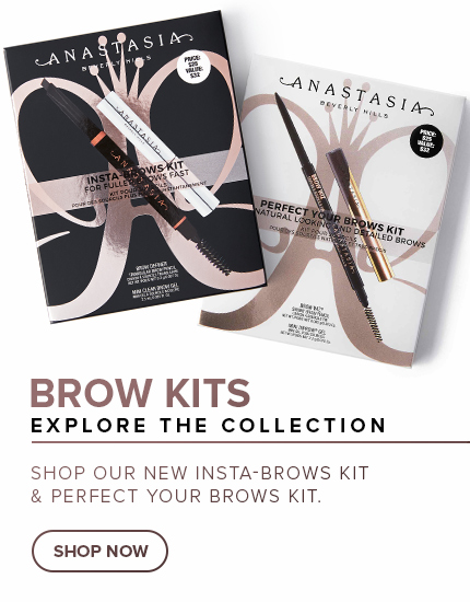 Brow Kits - Explore the Collection. Shop our new Insta-Brows Kit and Perfect Your Brows Kit