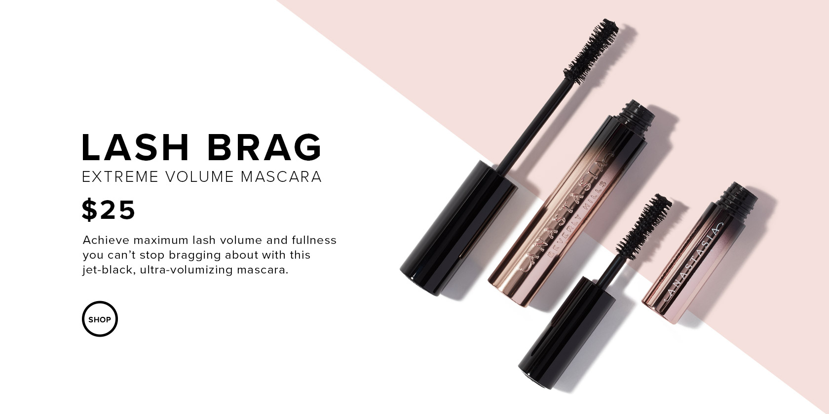 Lash Brag Mascara - Extreme Volume Mascara