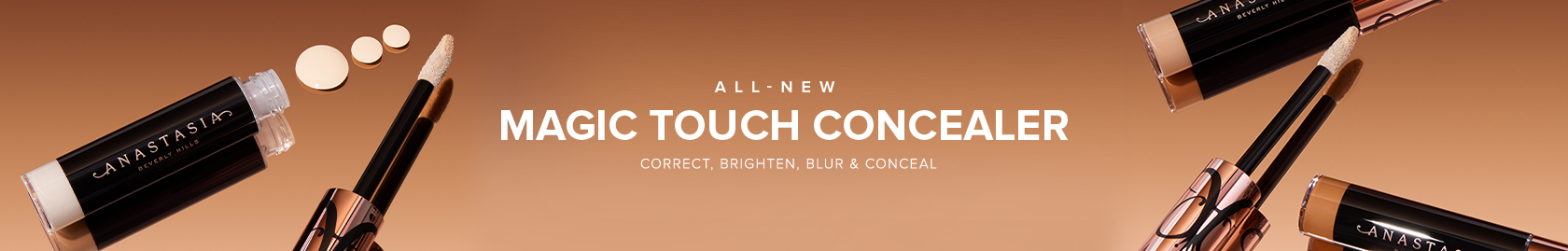 Magic Touch Concealer - Correct, Brighten, Blur and Conceal