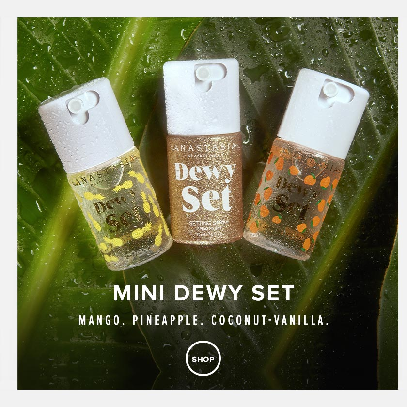 Mini Dewy Setting Spray - Mango, Pineapple, Coconut-Vanilla