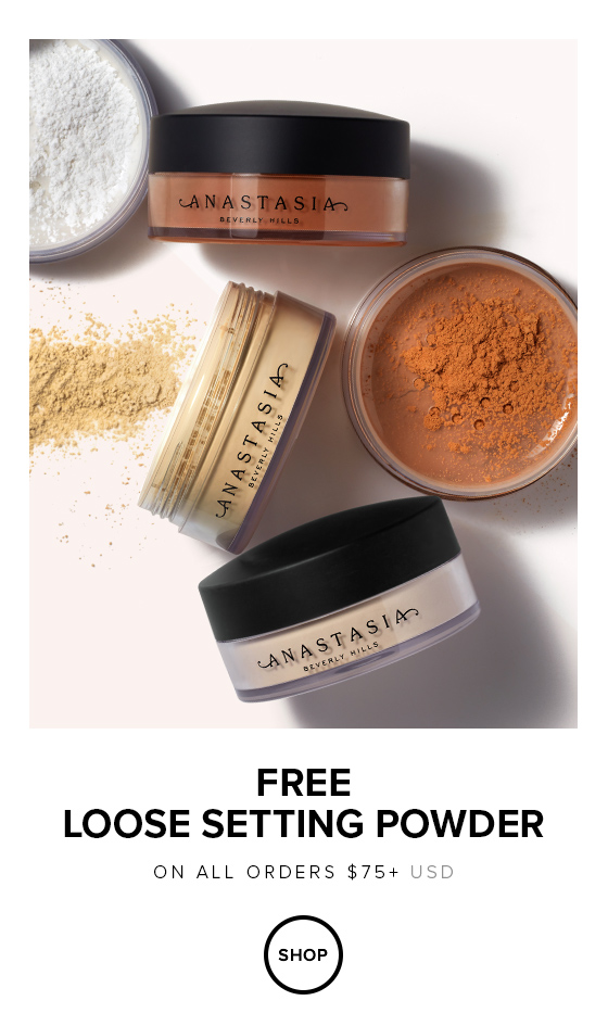 Free Loose Setting Powder with $75 Order