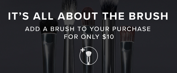 It's All about the Brush - Add Anastasia's recommended brush to your purchase for $10