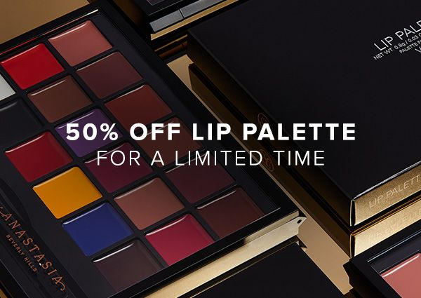 50% off Lip Palette - A Palette worth the hype