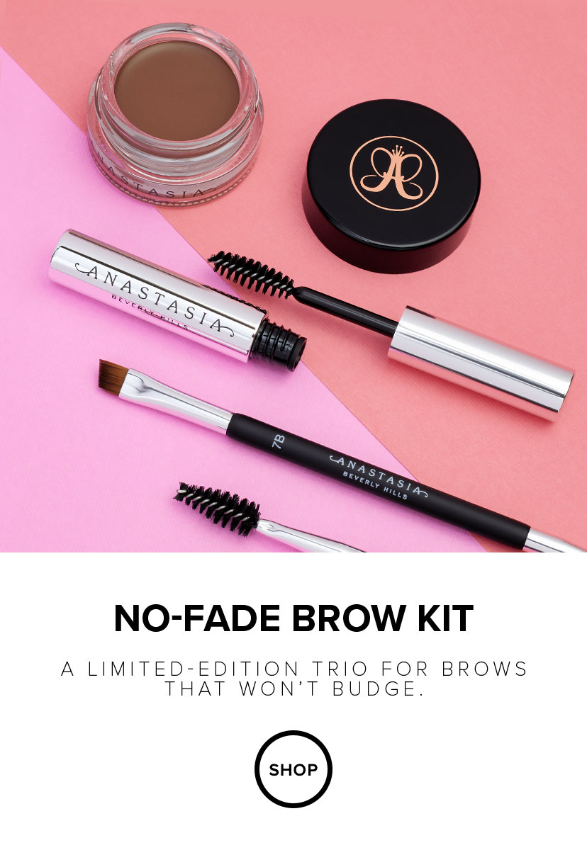 No-Fade Brow Kit - A Limited Edition Trio for Brows That Won't Budge