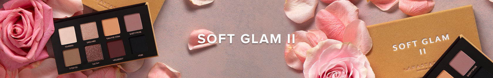 Soft Glam II Palette - Take our iconic palette on the go