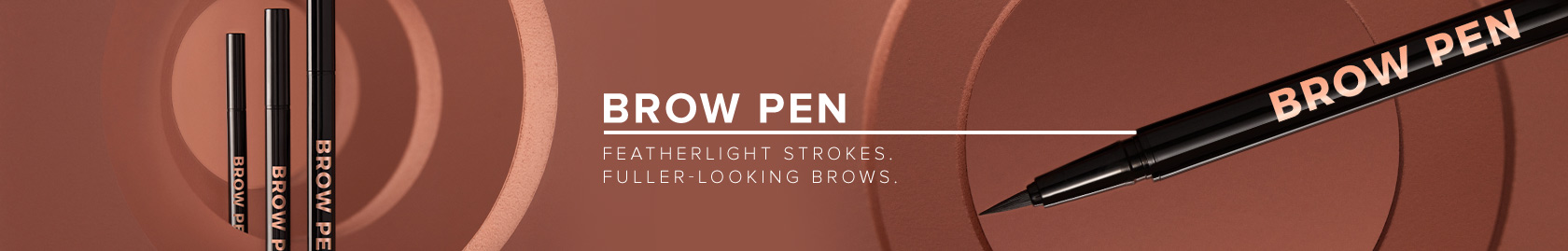 Brow Pen - feather like strokes. fuller looking brows
