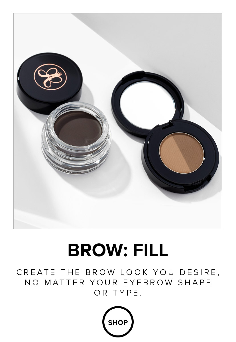 Create the brow look you desire no matter the shape