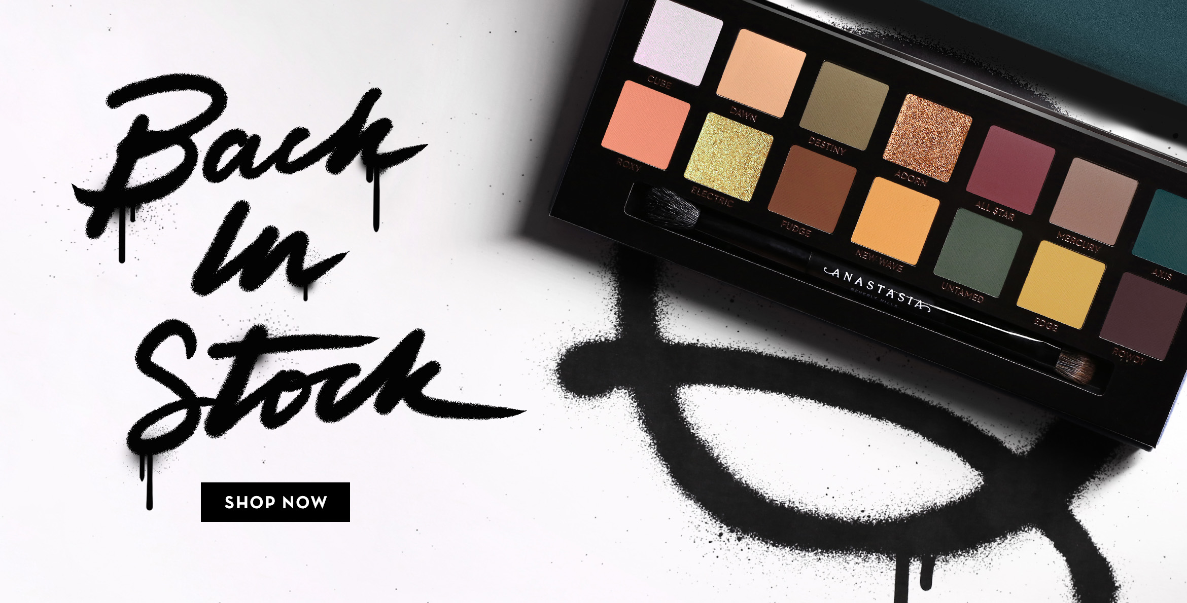 Subculture Palette Back in Stock