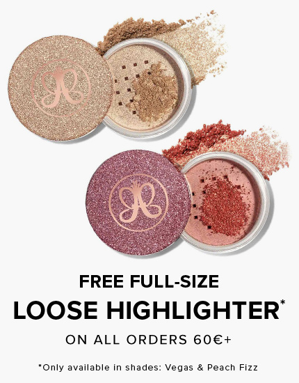 Free Full Sized Loose Highlighter with 60€ orderr