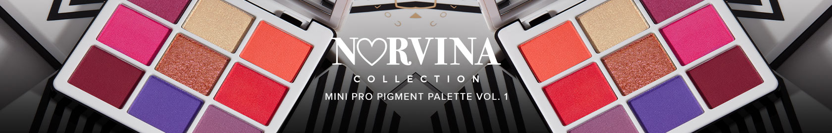 Norvina Collection Mini Pro Pigment Palette Vol. 1