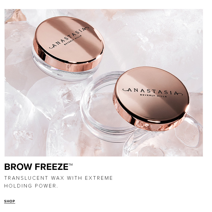 Brow Freeze - Translucent Wax with Extreme Holding Power