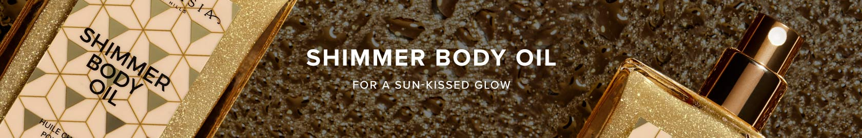 Shimmer Body Oil - For a Sun-Kissed Glow