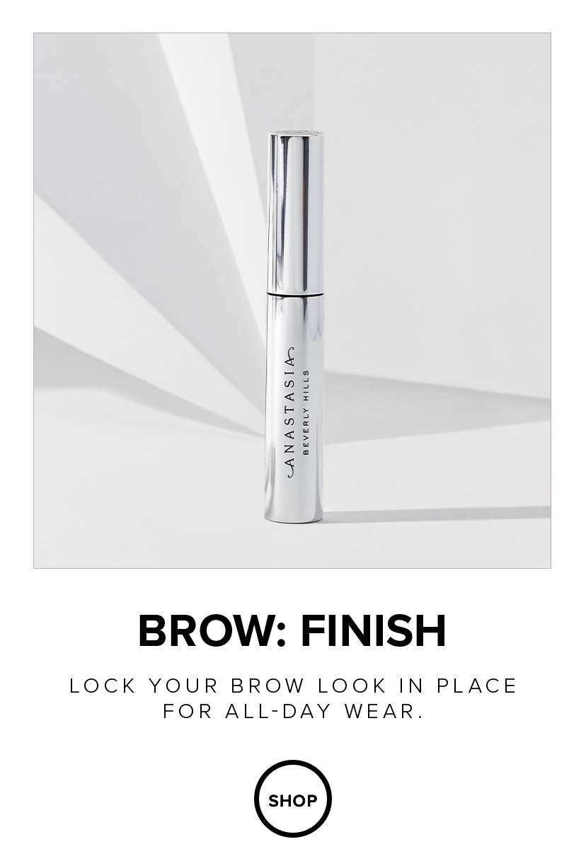 Lock your brow look in place for all day wear