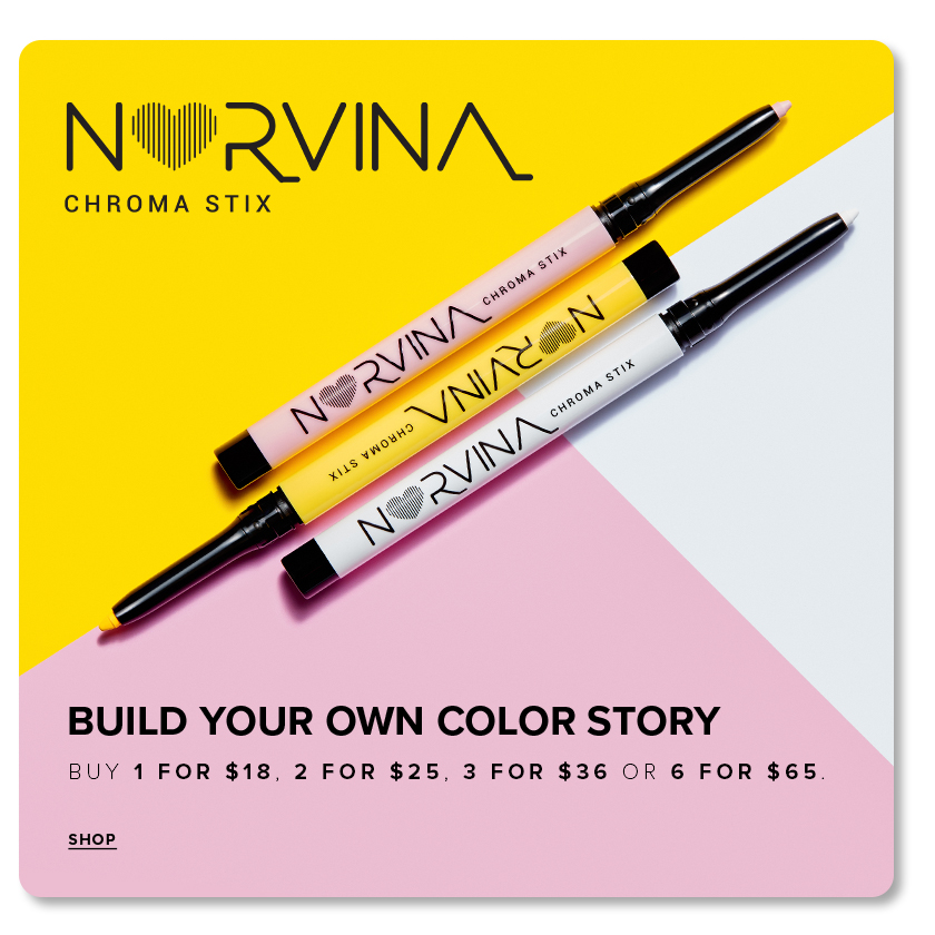 Norvina Chromastix | Build your own color story - Buy 2 for $25 | 3 for $36 | 6 for $65