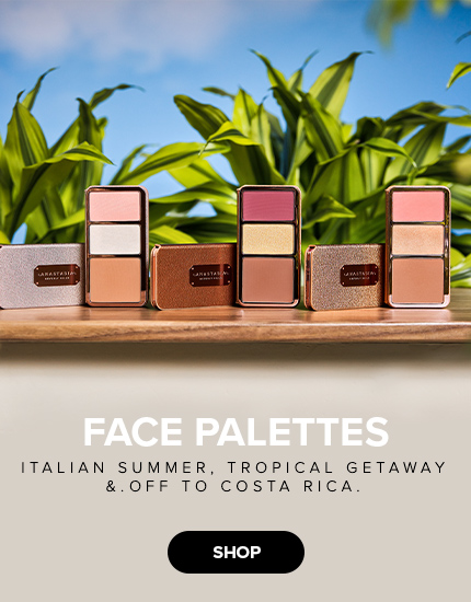 Face Palettes | Italian Summer, Off to Costa Rica, and Tropical Getaway