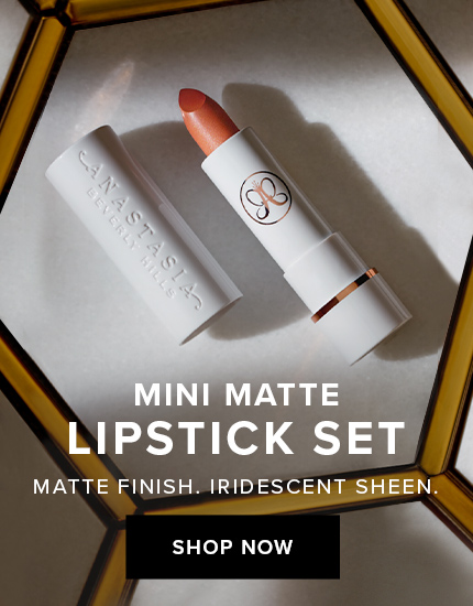 Mini Matte Lipstick Set - Matte Finish. Iridescent Shine.