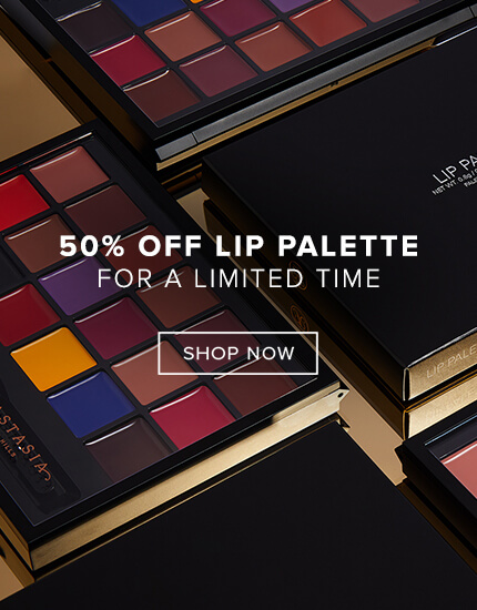 50% off the Lip Palette for a Limited TIme