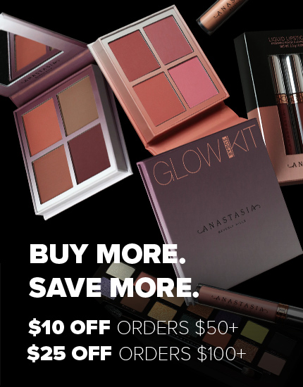 Buy More Save More! Save $10 on $50+ and $25 on $100+