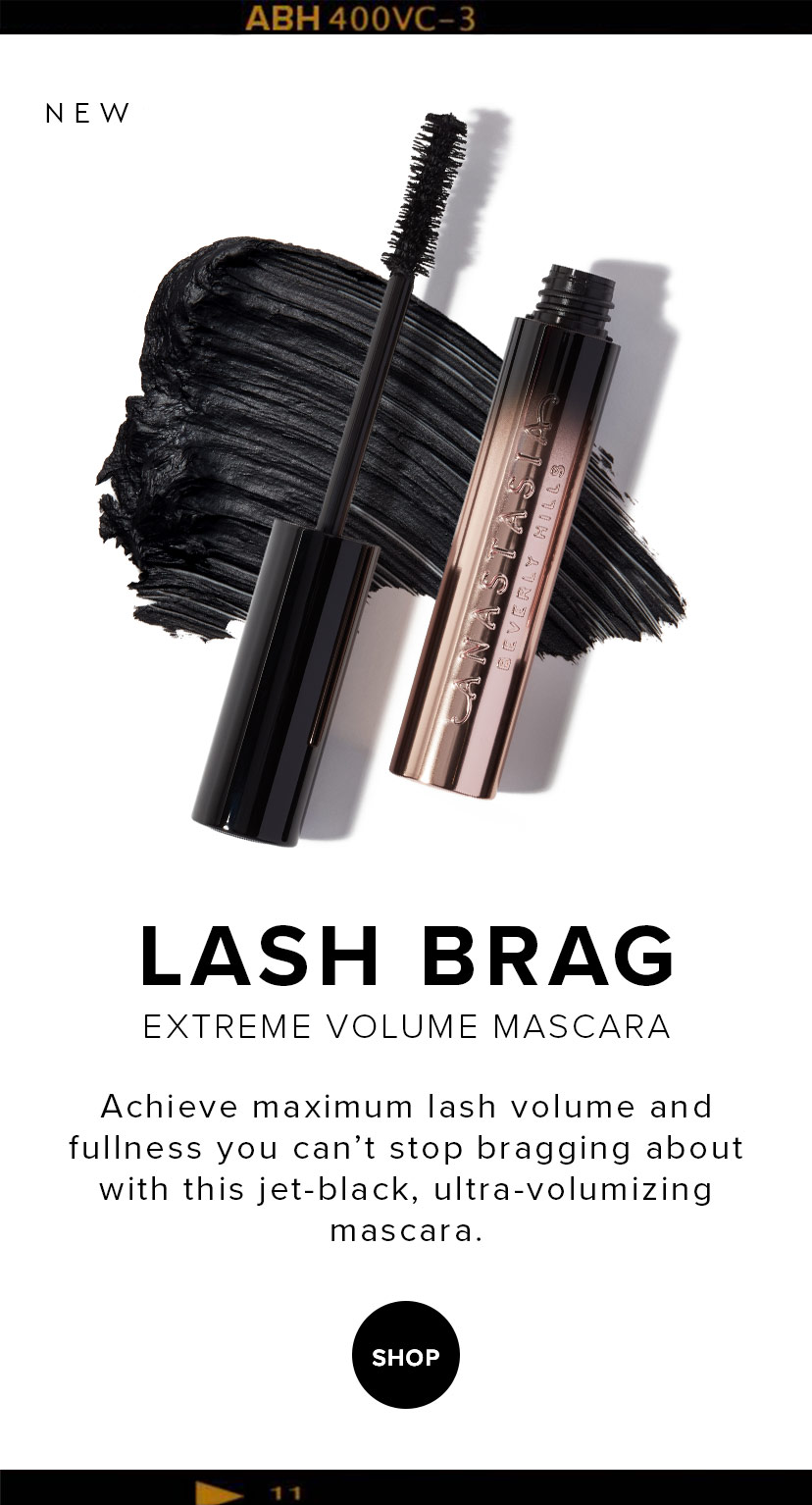 Lash Brag Mascara - Achieve maximum lash volume and fullness you can't stop bragging about with the jet black, ultra-volumizing mascara