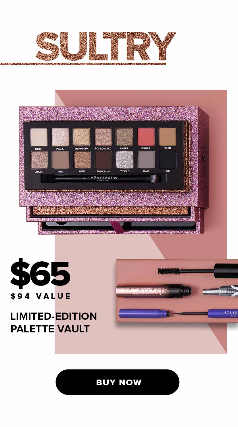 Sultry Limited Edition Palette Vault