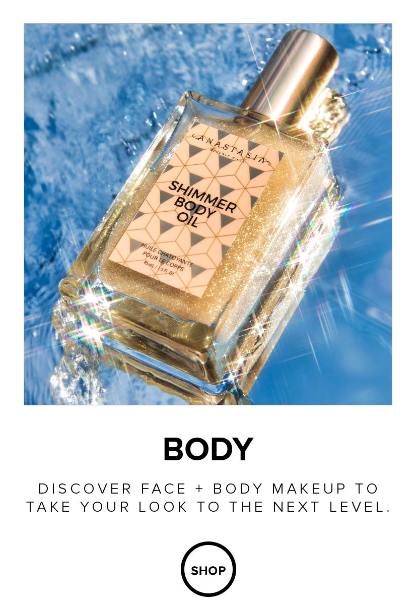 Discover face and body makeup to take your look to the next level