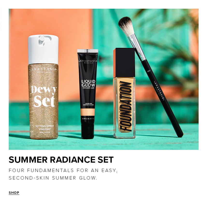 Summer Radiance Set - Four Fundamentals for An Easy Second Skin Summer Glow