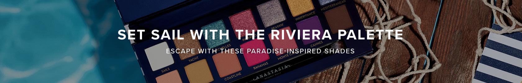 Riviera Eye Shadow Palette - Set Sail to Paradise