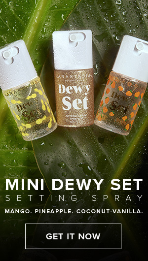 Mini Dewy Set Setting Spray - Mango, Pineapple, Coconut-Vanilla