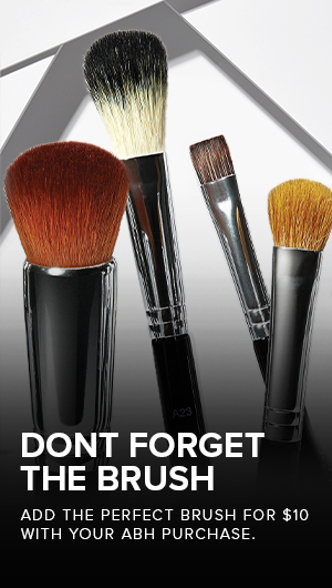 It's all about the brush, add a brush to any order for $10