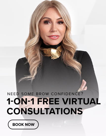 Need some brow confidence? Schedule 1 on 1 Free Virtual Consultations