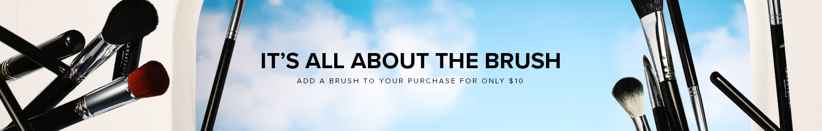 It's All About the Brush   Add a Brush to Your Purchase for Only $10