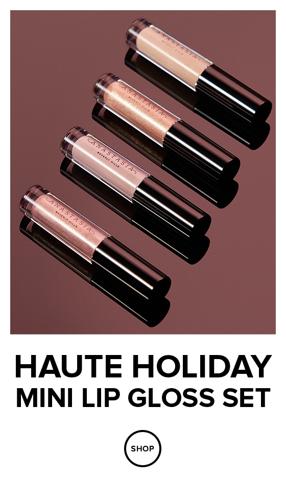 Haute Holiday Lip Gloss Set