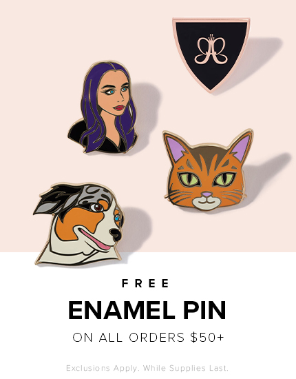 Free Enamel Pin on $50 Orders