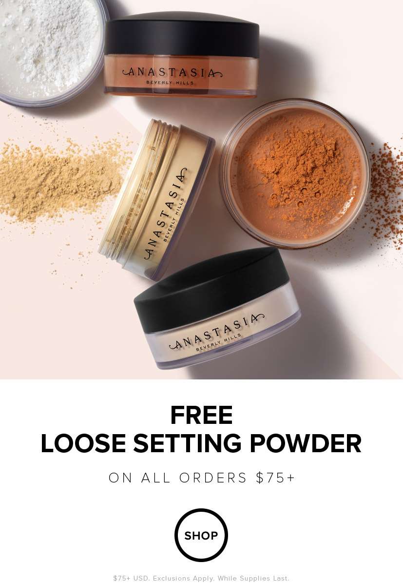 Free Loose Powder with $75 Order