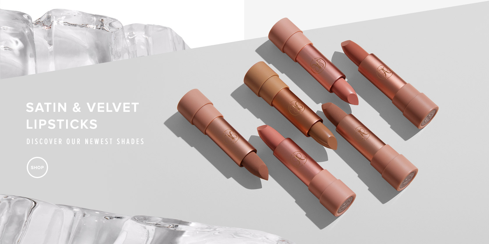 Satin and Velvet Lipstick - Discover our newest shades