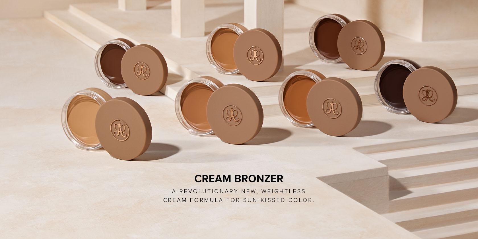 Cream Bronzer a revolutionary new, weightless cream formula for sun kissed color