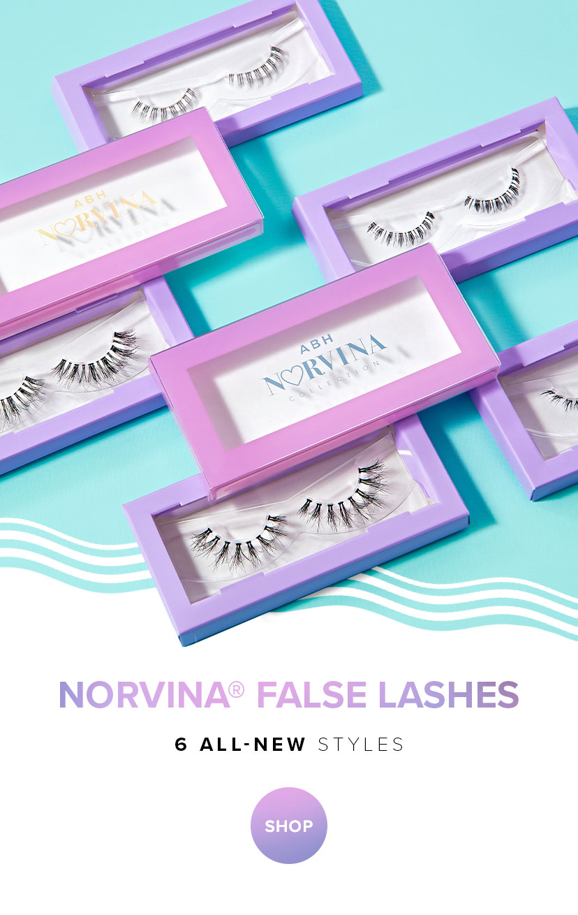 Norvina False Lashes - 6 All New Styles