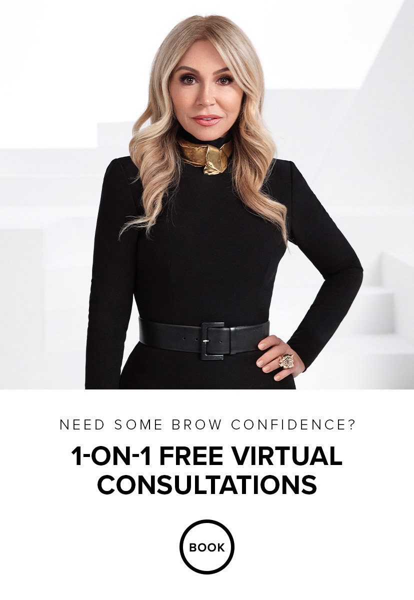 Need some brow confidence? 1 on 1 Free Virtual Consultations