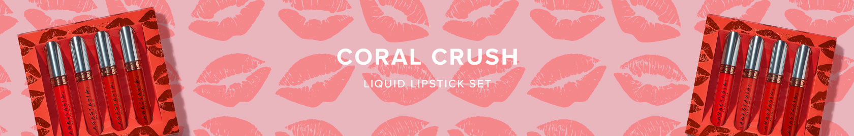 Coral Crush Liquid Lipstick Set