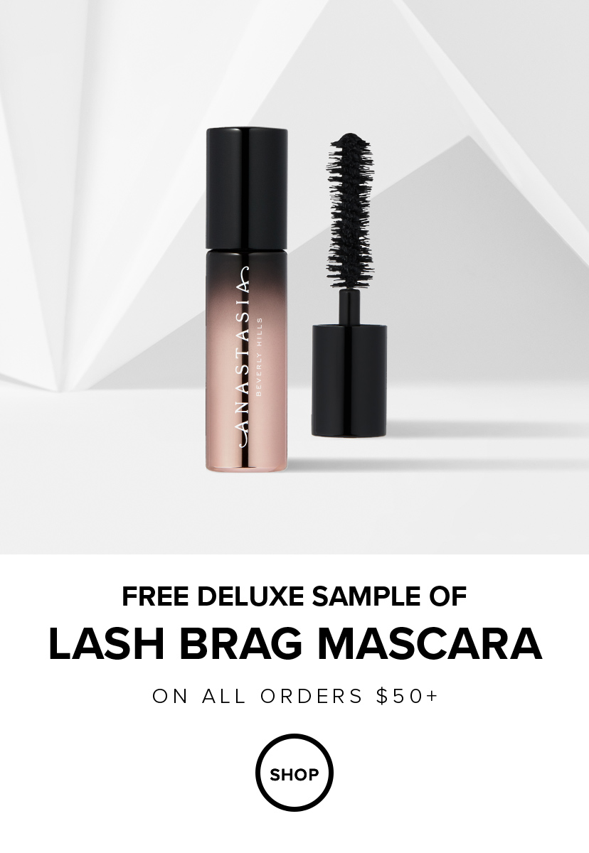 Free Deluxe Sample of Lash Brag Mascara with $50 Ordersl