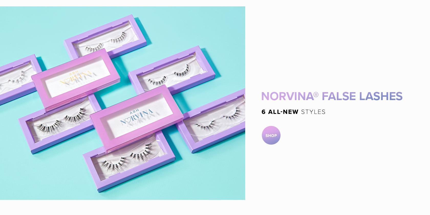 Norvina False Lashes - 6 All New Styles