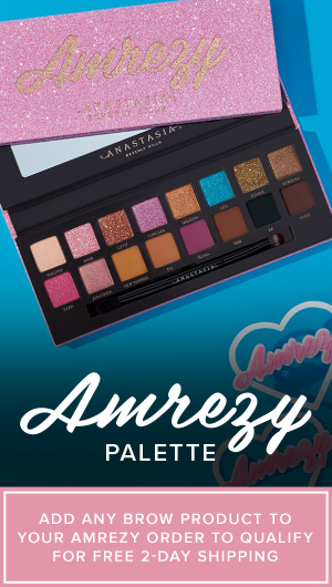 Amrezy Palette - Add Any Brow Product to your Amrezy Order to Qualify for Free 2-Day Shipping