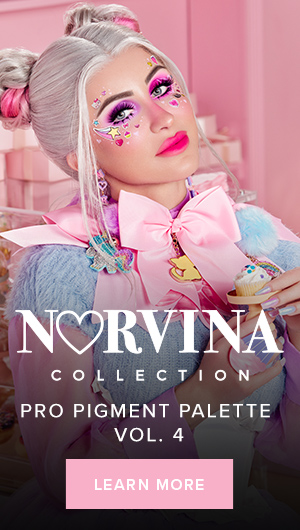 Learn More about the new Norvina Pro Pigment Palette Vol. 4