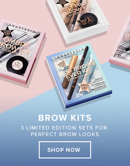 New Brow Kits - 3 Limited Edition Sets for Perfect  Brow Looks