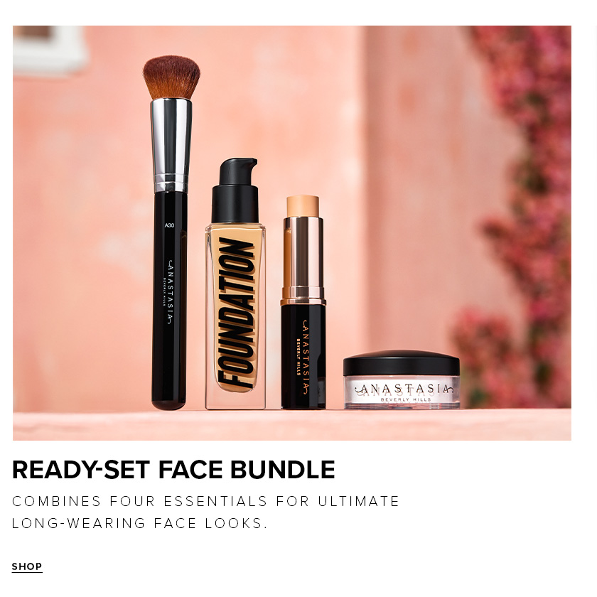 Ready-Set Face Kit - Combine Four Essentials for Ultimate Long-Wearing Face Looks